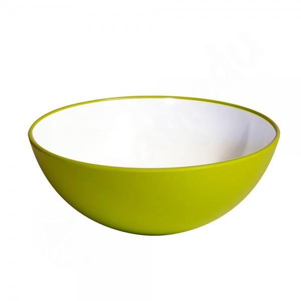 Gimex Schale Steingutoptik Lime Green Promo Line