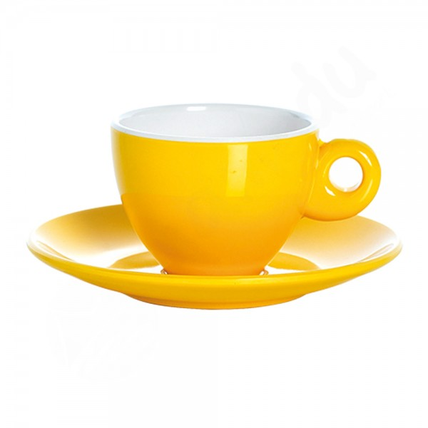 Gimex Espresso Set - Gelb