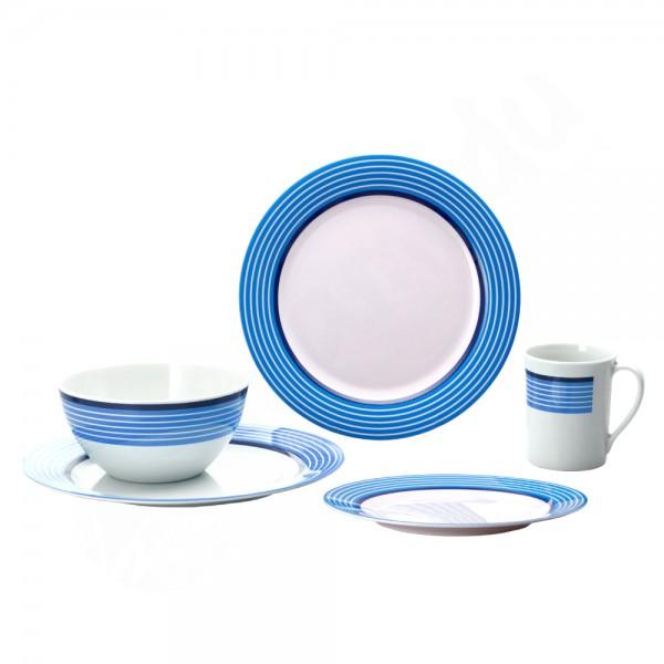 Gimex Trendline - Blau - Geschirrset