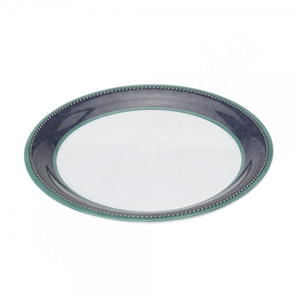 Gimex Tiefer Teller - Marble Blue