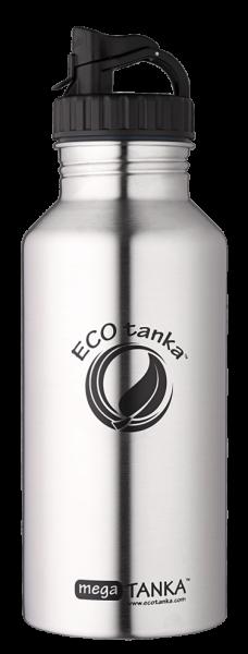 ECOtanka  2,0l megaTANKA™ in Edelstahl mit Poly-Loop-Verschluss