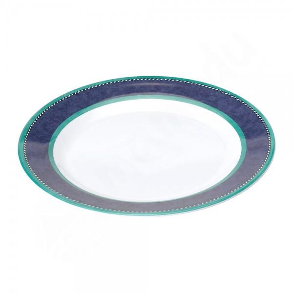 Gimex Dessertteller - Marble Blue